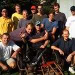 Společné foto účastníků ligy 2003
