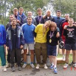 Společné foto účastníků ligy 2005