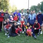 Společné foto účastníků ligy 2007